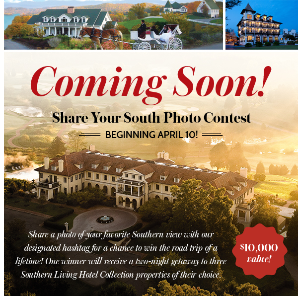 Coming Soon! Share Your South Photo Contest