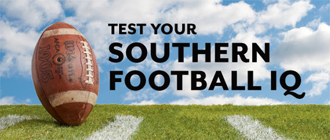 Test your Southern Football IQ