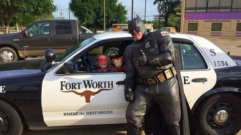 Real-Life Batman Catches Would-Be Thief in Fort Worth