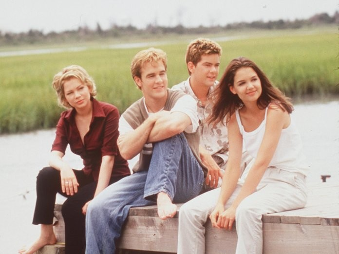 The Dawson's Creek Cast Reunited After 20 Years and They're Still Total Heartthrobs 032818-dawsons-creek-lead