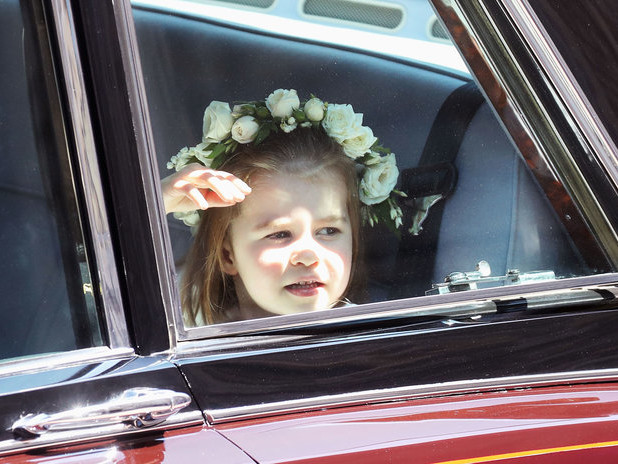 Every Picture of Prince George and Princess Charlotte at Prince Harry and Meghan Markle's Wedding 051919-princess-charlotte-lead