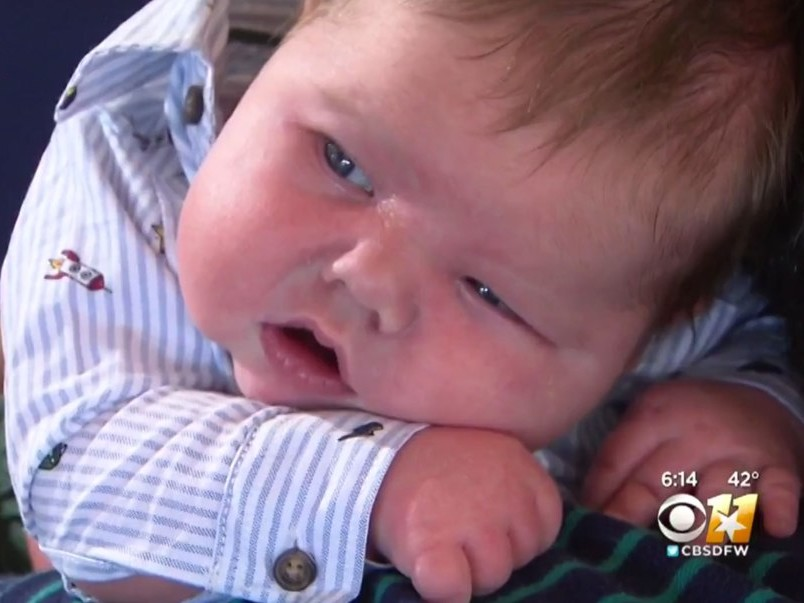 Texas Newborn Smashes Hospital Weight Record at Nearly 15 Lbs: 'I'm So Blessed,' Says Mom baby-2