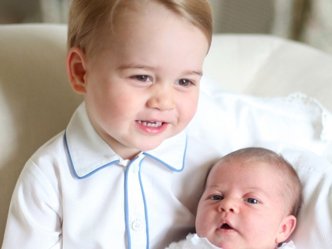 Can You Spot the Sweet Hand-Me-Downs in the New Photos of Prince Louis and Princess Charlotte? charlotte-a