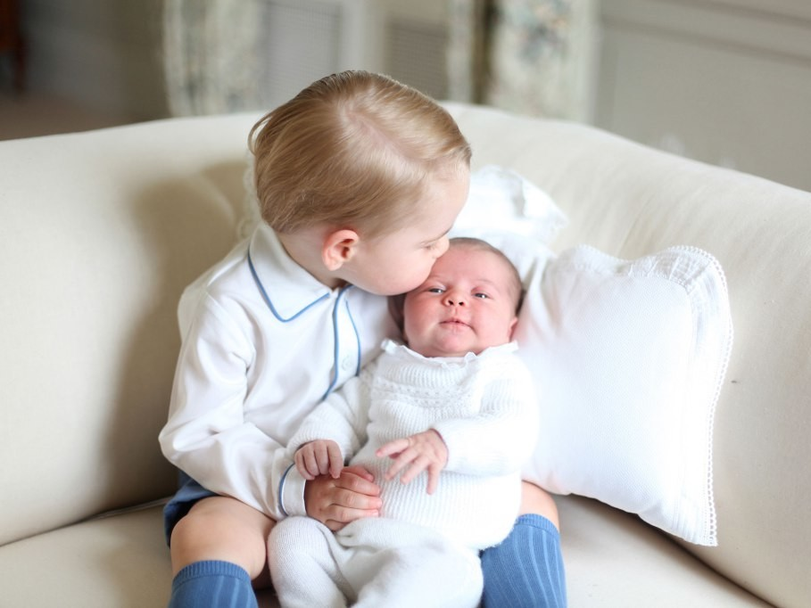 Can You Spot the Sweet Hand-Me-Downs in the New Photos of Prince Louis and Princess Charlotte? charlotte