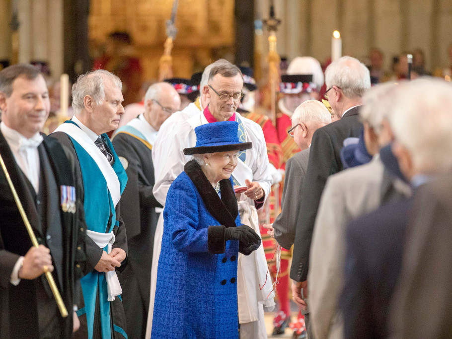 Prince Philip Abruptly Cancels Maundy Church Service with the Queen Prompting Health Fears elizabeth-3