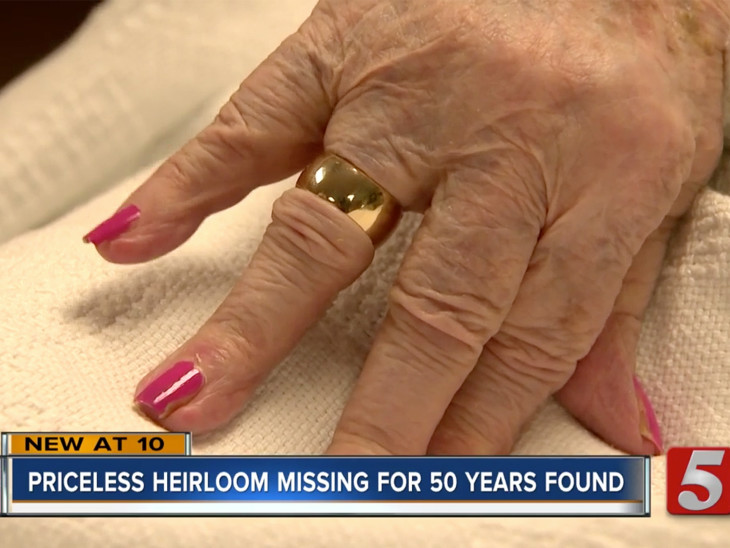 Man Finds 94-Year-Old's Wedding Ring 50 Years After She Lost It: 'I Didn't Think I'd Ever See It'