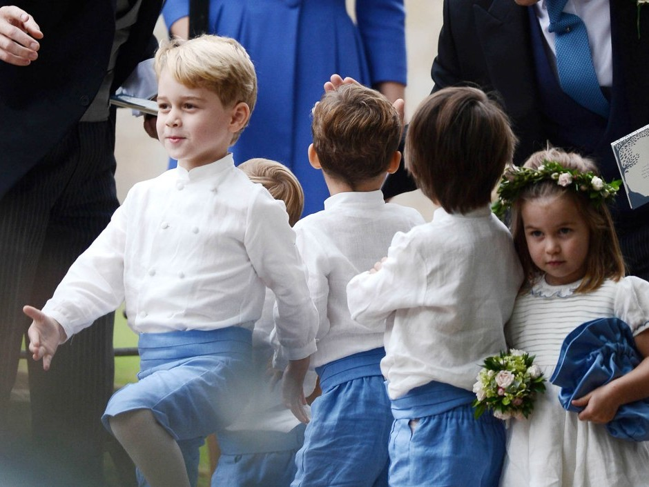 Prince George and Princess Charlotte Are Officially Set to Appear in Princess Eugenie's Wedding! george-d