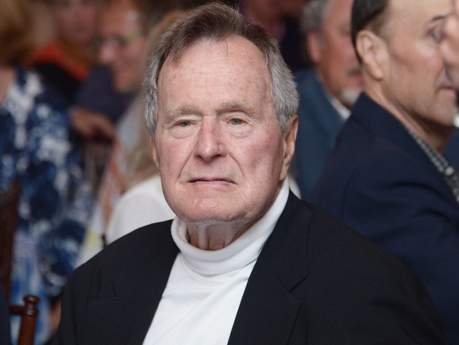 George H.W. Bush Returns Home More Than a Week After His Hospitalization: 'He Is Doing Well' george-w-bush-1-2000