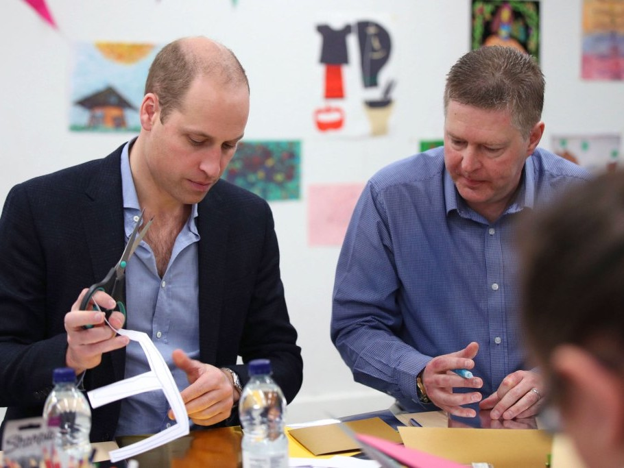 Prince William Jokes That 5-Year-Old Prince George 'Knows I'm Useless' at This Holiday Task gettyimages-1071785136