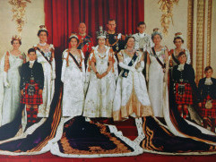 The Crown! The Crowd! Remembering Queen Elizabeth's Coronation 65 Years Ago gettyimages-566450923