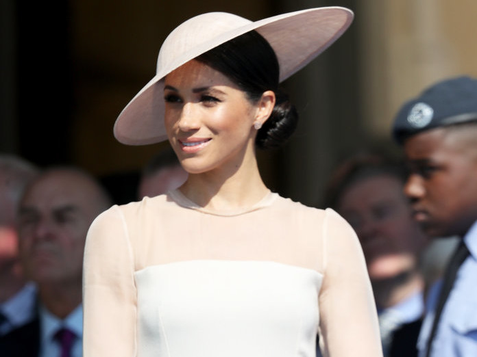 Meghan Markle's First Post-Wedding Outfit Took an Unexpected Turn gettyimages-961392936