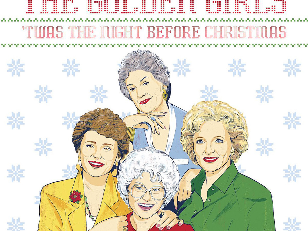 'The Golden Girls 'Twas The Night Before Christmas' Is This Years Perfect Holiday Stocking Stuffer golden_girls_holiday_book