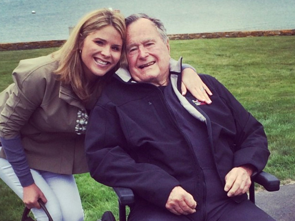 What Jenna Bush Hager's Grandparents Told Her When Today Offered Her a Job & She Wasn't Sure What to Do jenna-bush-hagar