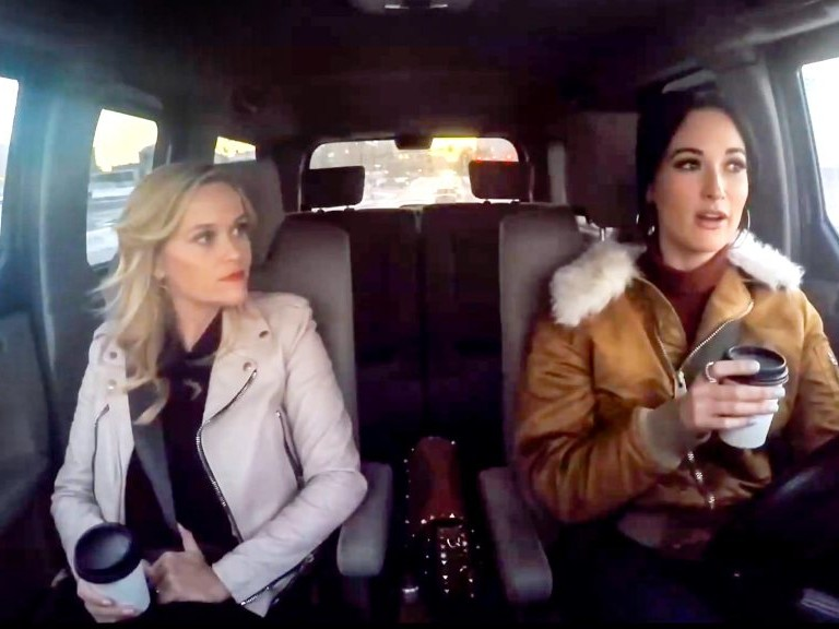 Kacey Musgraves Tells Reese Witherspoon About Paying Her Dues in Country Music kacey-musgraves-reese-1