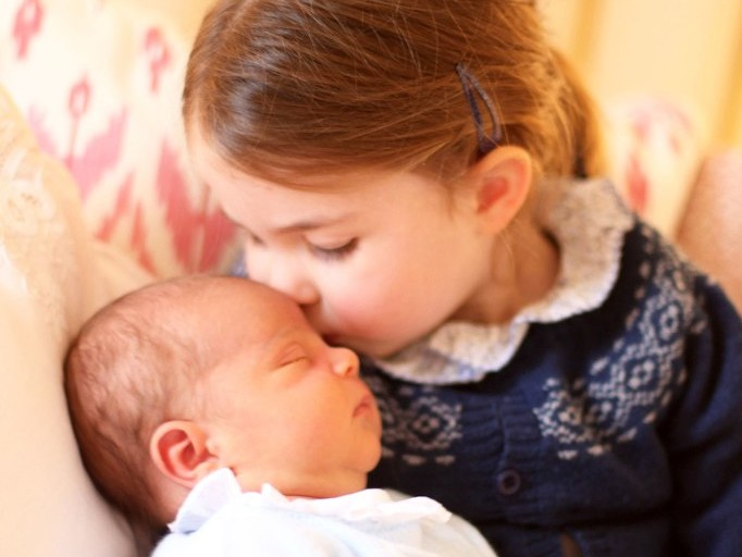 Can You Spot the Sweet Hand-Me-Downs in the New Photos of Prince Louis and Princess Charlotte? louis-a