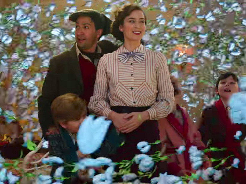 Emily Blunt and Lin-Manuel Miranda Praise Dick Van Dyke's Energy at 92 in Mary Poppins Returns marypoppins