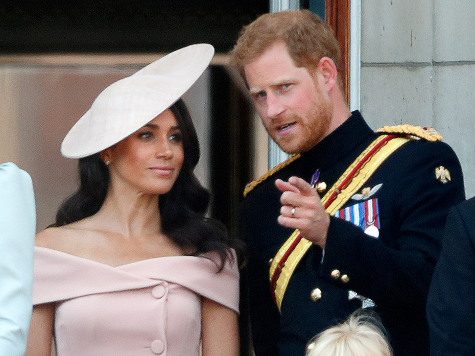 The Hidden Moment You May Have Missed Between Meghan Markle and Prince Harry on the Palace Balcony meghan-markle1