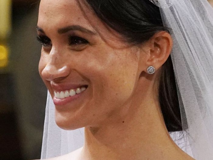 Yes, Meghan Markle's Bridal 'Messy Bun' Was Supposed to Come Loose, Says Her Hairdresser rexfeatures_9685436aw