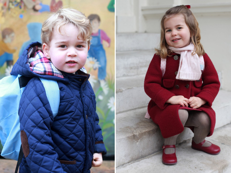 Kate Middleton Says Prince George & Princess Charlotte 'Really Enjoy Making' Pizza Dough Together royal-kids-2