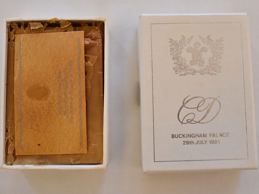 Slices of Royal Wedding Cakes Up for Auction Including a 36-Year-Old Morsel from Diana's Nuptials royal-wedding-cakes-4