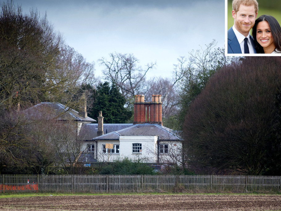 Meghan Markle and Prince Harry's Frogmore Home Upgrades Were Just Revealed (No Yoga Studio!) royal