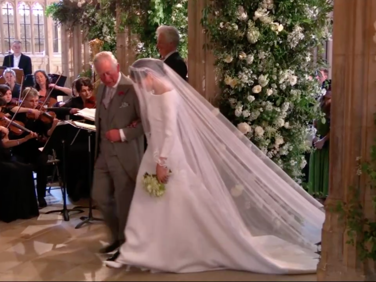 Prince Harry Picked Flowers for Meghan Markle's Bouquet — Plus, the Sweet Tribute to Princess Diana screen-shot-2018-05-19-at-7-03-49-am-2