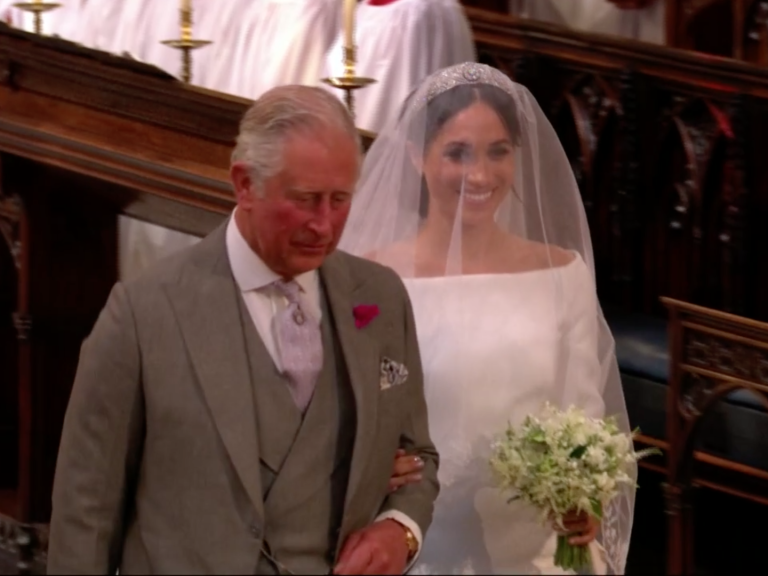 Prince Harry Picked Flowers for Meghan Markle's Bouquet — Plus, the Sweet Tribute to Princess Diana screen-shot-2018-05-19-at-7-04-21-am-2