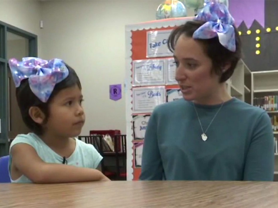 Teacher Cuts Her Own Hair to Support Bullied Student, 5, Who Was Told She Looked Like a Boy shannon-grimm