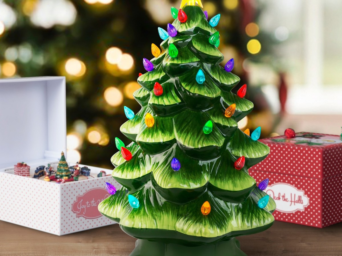 These Nostalgic Christmas Trees Are Making a Comeback targetvintagetree