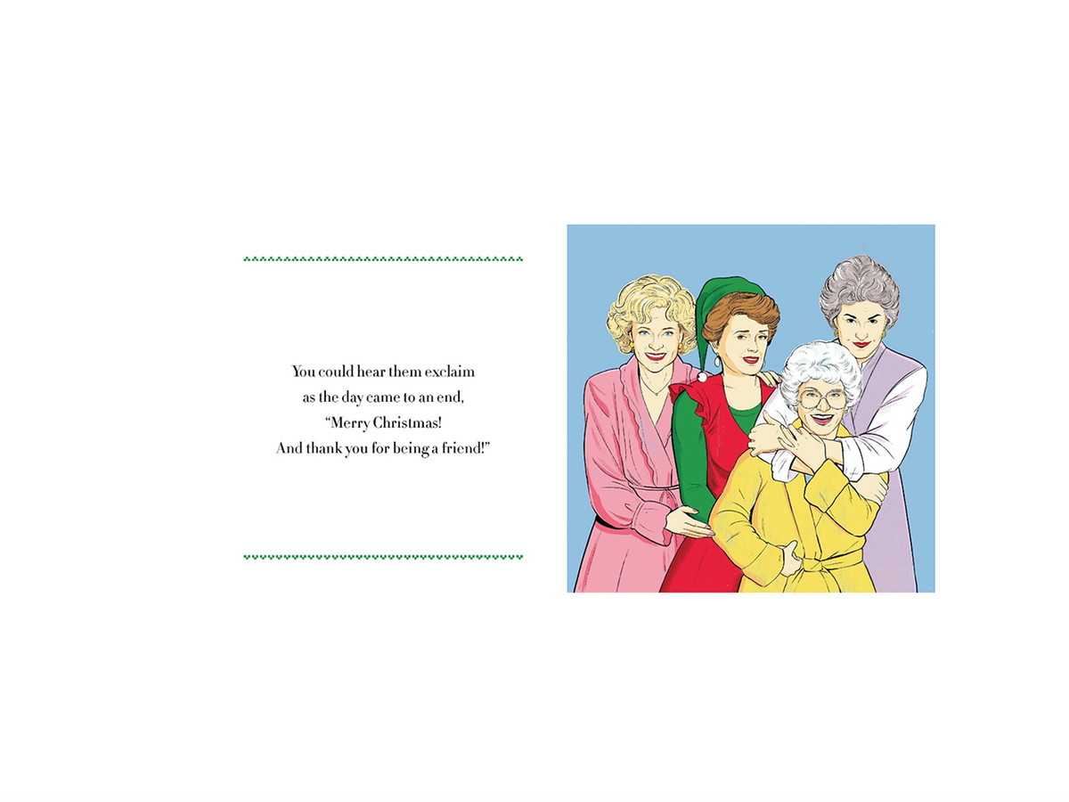 'The Golden Girls 'Twas The Night Before Christmas' Is This Years Perfect Holiday Stocking Stuffer the%20end