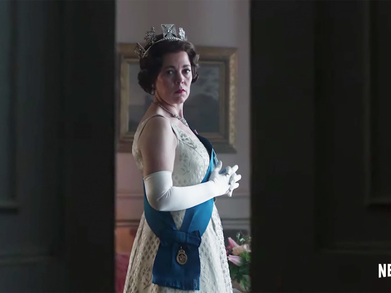 See Olivia Colman as Queen Elizabeth in New Teaser for The Crown (with a Cameo from Claire Foy!)