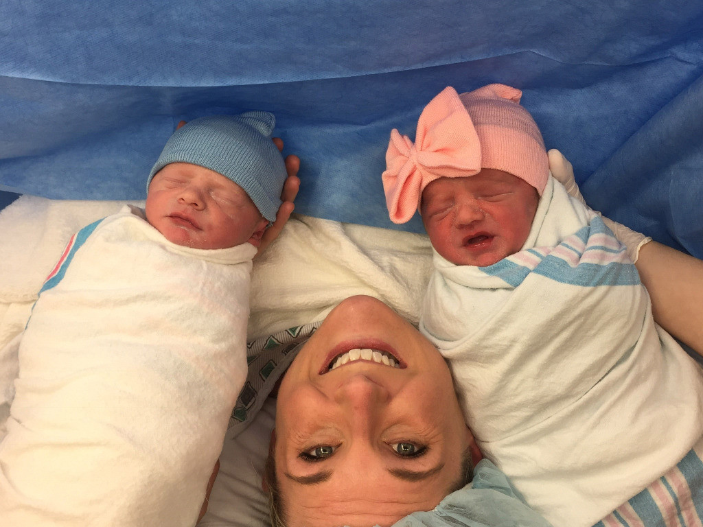BFF Goals! Virginia Woman Serves as Surrogate for Best Friend — and Gives Birth to Twins! twins-1