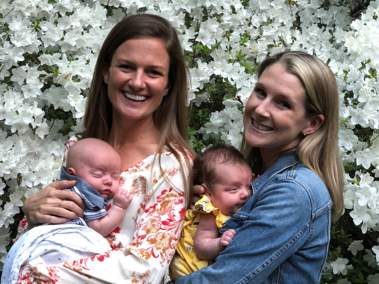 BFF Goals! Virginia Woman Serves as Surrogate for Best Friend — and Gives Birth to Twins! twins-2