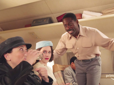 Alex Borstein, Rachel Brosnahan, Sterling K. Brown - The Marvelous Mrs. Masiel