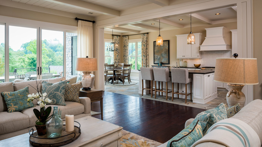 open living room kitchen floor plans open floor plans we southern living 9013