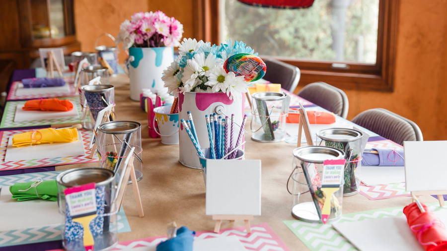 Creative Kids' Birthday Party Art Party 1