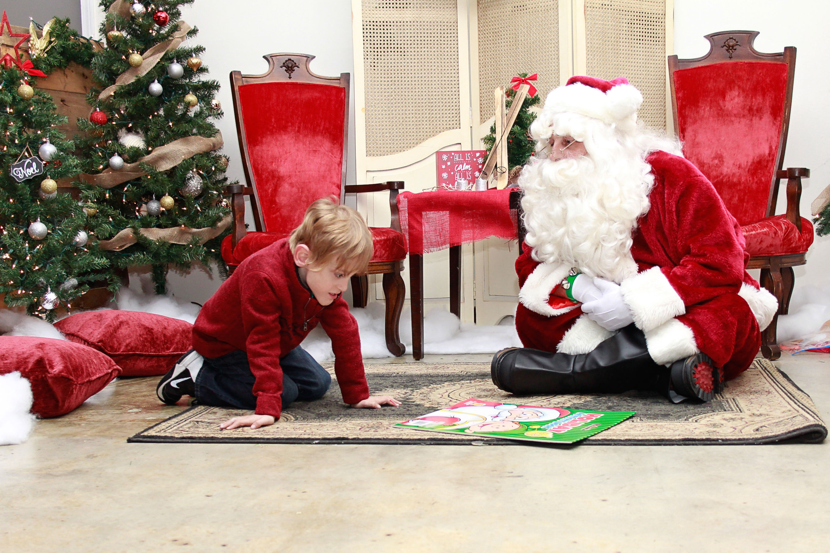 This Tennessee Santa Did Something Incredible for a Special Needs Child