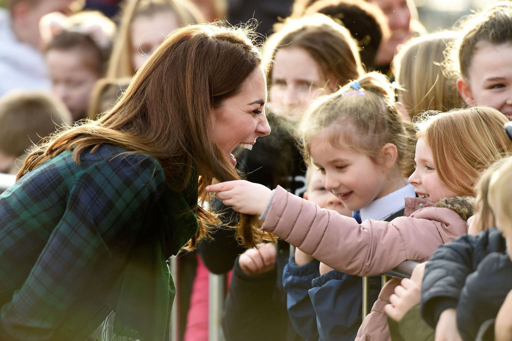 Kate Middleton Let a Little Girl Touch Her Signature Blowout — and Her Reaction Was Perfection