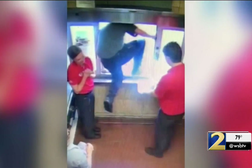 Chick-Fil-A Employee Jumps Out Drive-Thru Window to Save Choking Boy