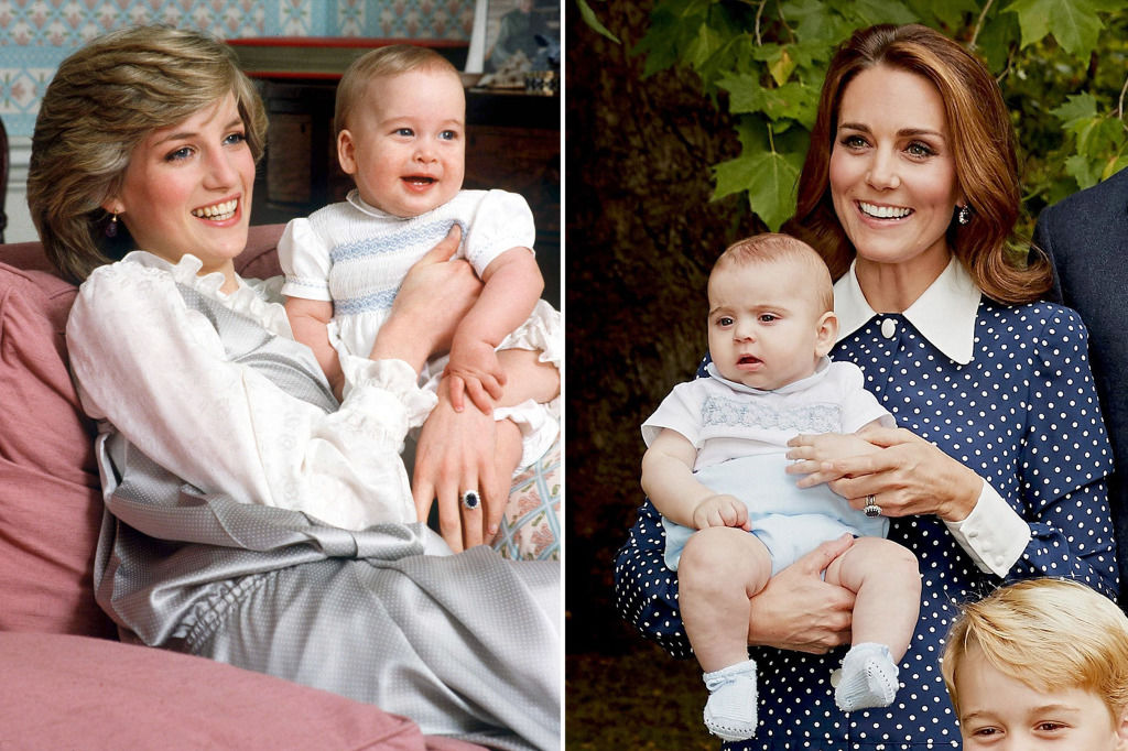 Kate Middleton Dressed Prince Louis Just Like Diana Dressed Prince William at the Same Age