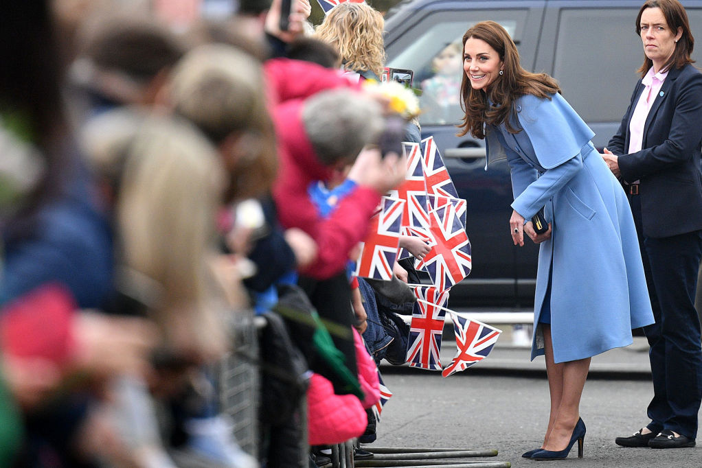 Watch Kate Middleton Show Off Her Hair Braiding Skills on a Young Theater Student