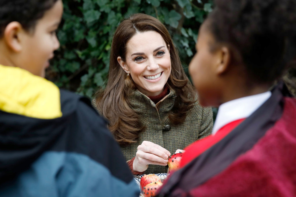 Kate Middleton Had the Best Reaction When a Child Asked If the Queen Ate Pizza