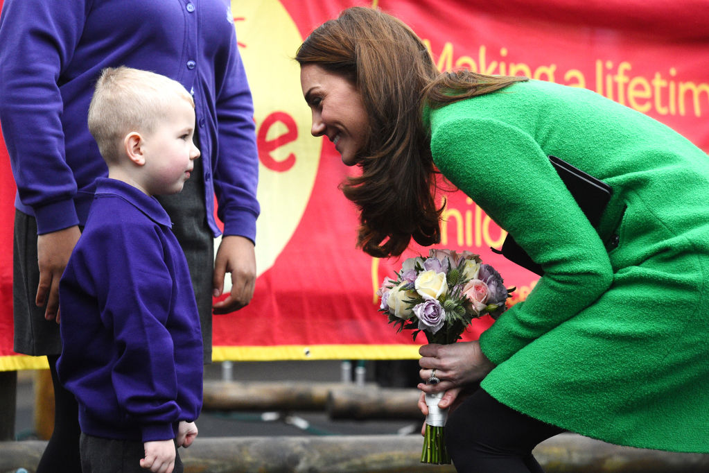 Kate Middleton Chose the Sweetest Thing as Her Item That 'Makes Her Feel Good' During School Visit