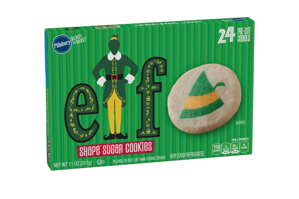 Christmas Cheer! Pillsbury Just Released Elf-Themed Sugar Cookies Featuring Buddy Himself