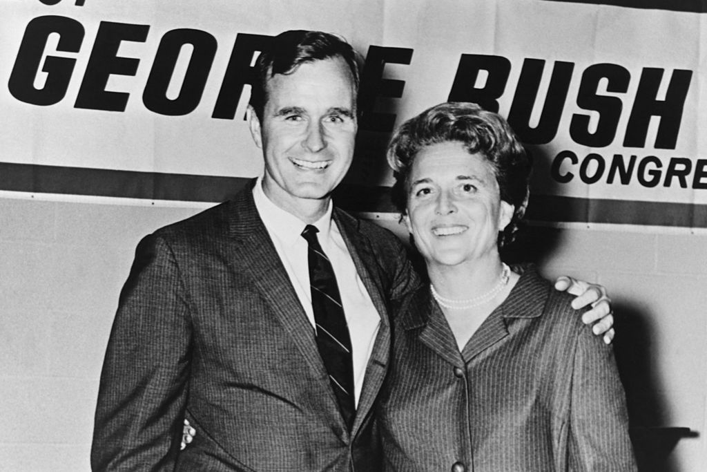 George W. Bush Writes of His Mother's Last Words as She Died Holding Her Husband's Hand
