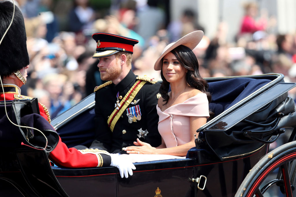 The Hidden Moment You May Have Missed Between Meghan Markle and Prince Harry on the Palace Balcony