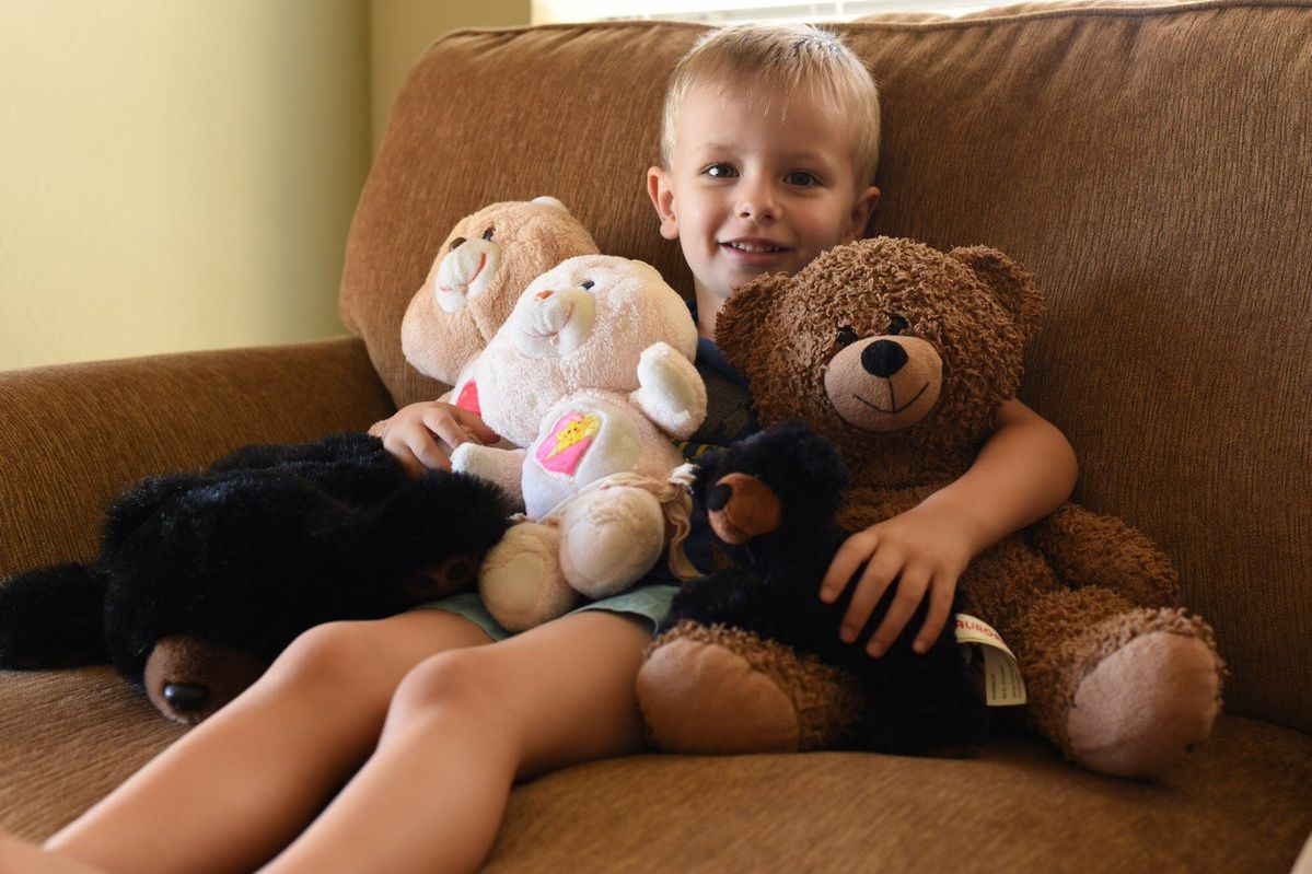 Four-Year-Old Texas Boy Finally Reunited with Missing Teddy Bear