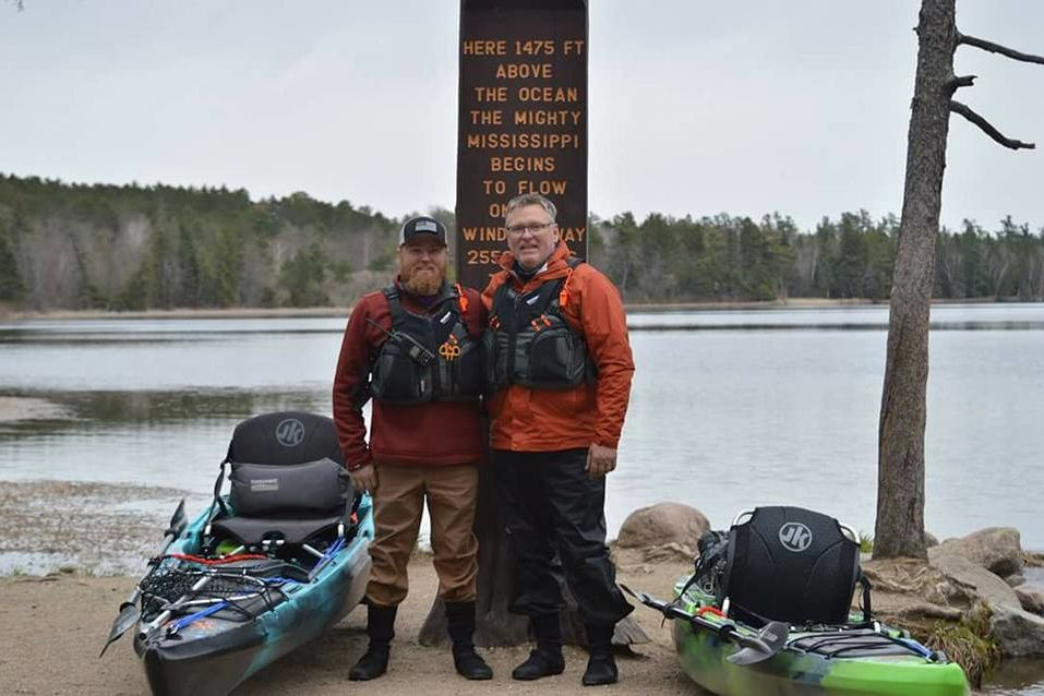 Father-and-Son Army Vets Kayaking the Length of the Mississippi River to Bring Awareness to Veterans Issues