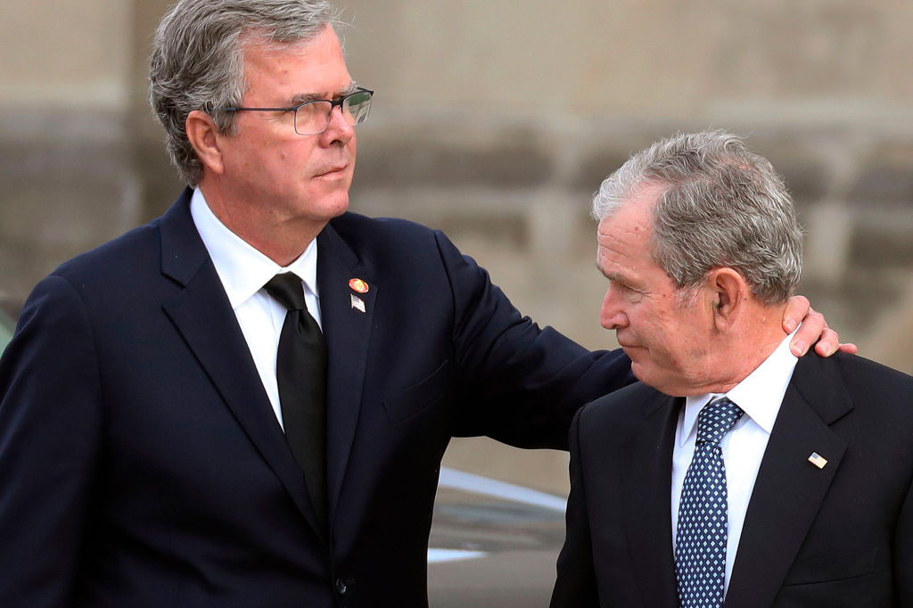 What Jeb Bush Told George W. After He Broke Down During Eulogy for Their Dad: 'You Recovered and Scored'