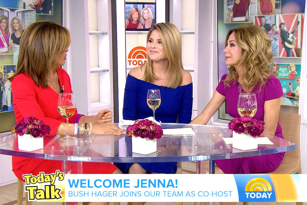 Jenna Bush Hager Says Laura Bush Is Not a Fan of Her Today Show Day-Drinking: 'My Mom Judges'